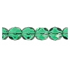 Fire Polished 6mm Transparent Green